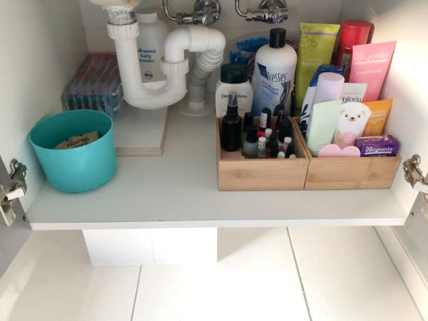 Main Bathroom vanity cupboard after