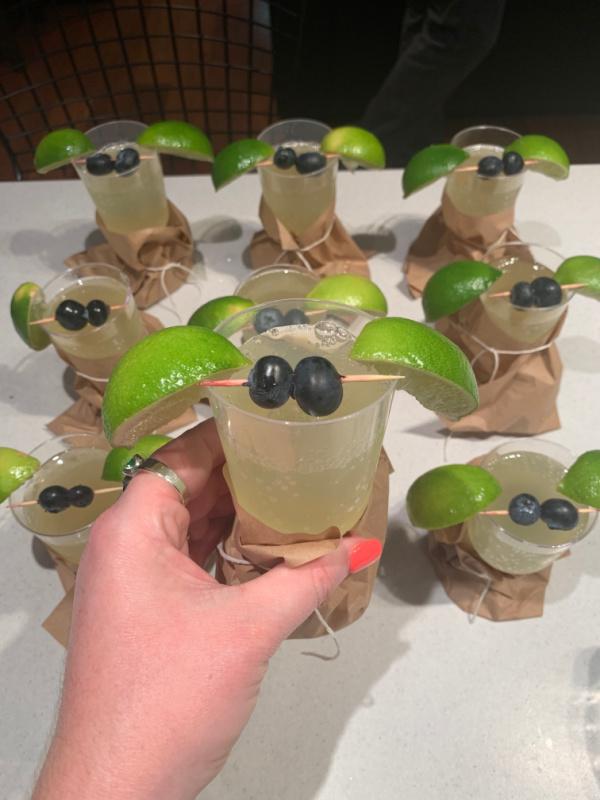 Baby Yoda Mocktails