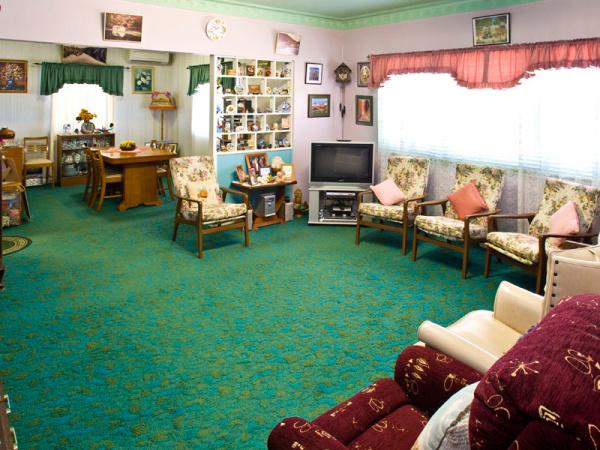 Grandparents lounge room 1950s