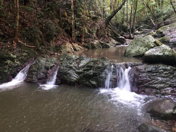 crystal creek water falls