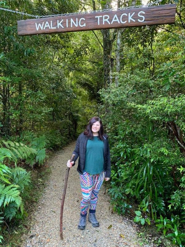 rainforest walk at Crystal Creek